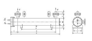 凯迪  凯得利 U型壳管干式蒸发器