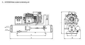 比泽尔水冷半封闭活塞压缩冷凝机组