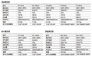飞越正品 N系列真空泵 1L/1.5L/2L/3L/4L