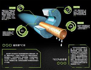 福乐斯正品 大金专供蓝色橡塑保温材料