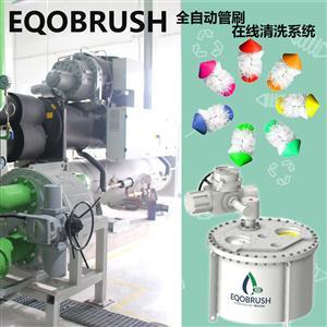 全自动管刷在线清洗换热器管束循环水处理设备