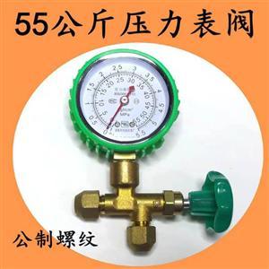 恒森5.5MPA压力表