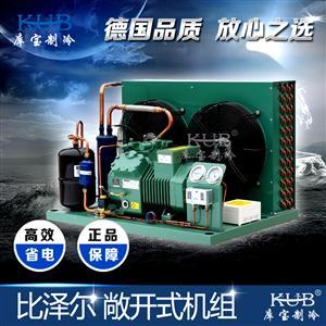 北京比泽尔3匹低温活塞风冷水冷机组中低温-18度-20度