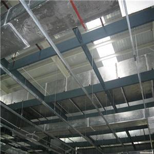 角钢法兰风管 玻璃钢通风管道制作安装整体价格