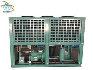 V型冷凝机组(上下层箱体冷凝器)