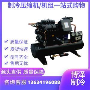 4S151D水冷机组 大四缸15p低温冷库设备