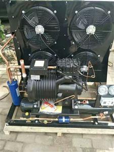 冷库配套-18度100立方15HP风冷机组,风机,电箱,彭