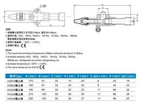 比泽尔机型(B型)铸铁系列阀门