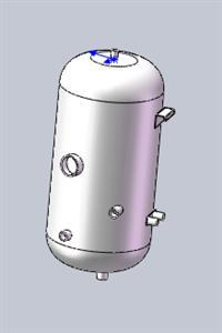 电壁挂炉水箱