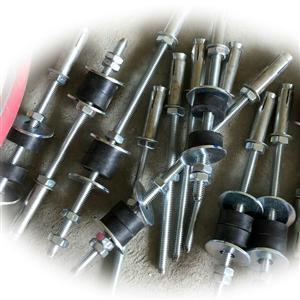 铜管橡胶减震配件 配重块