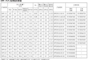 三花商用制冷配件DPF系列电子膨胀阀(含线圈)