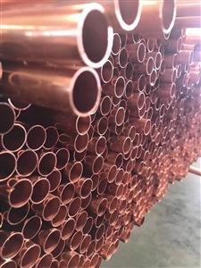 中佳铜管-直条铜管Φ25.4x1mm