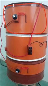 江苏康泰尔220v带温控旋钮油桶加热带化工桶加热带