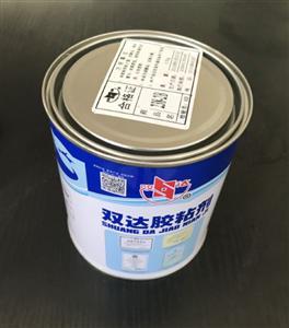 双达复合风管泡沫通用胶4038型 0.5kg毛重 15听/箱