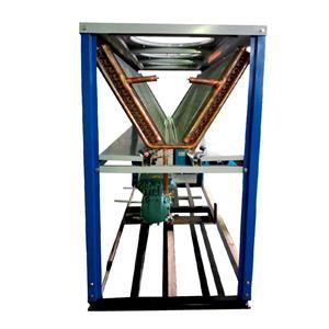箱式V型冷凝器FNV210换热量高结构紧凑垂直吸风式风量