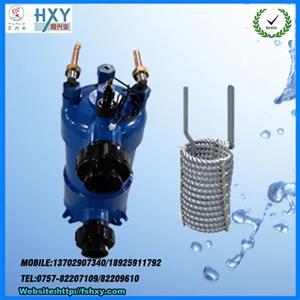 高效钛螺纹管换热器