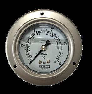扬州旺邦压力表  冷媒油表