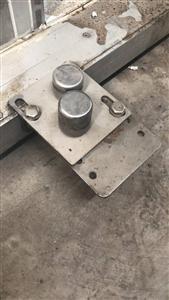 整体不锈钢圆弧电动门