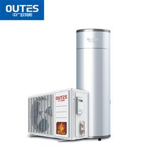 中广欧特斯(outes)空气能热水器 家用分体 超幸福系列 150L