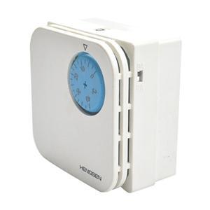 恒森WKQ-J02A中央空调温控器 机械式旋钮温度控制面板开关WKS-05B