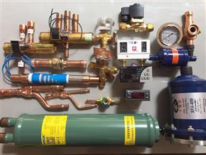 压力控制器、四通阀、热力膨胀阀等制冷空调配件