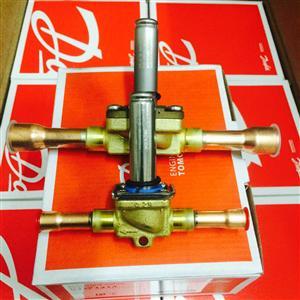 Danfoss丹佛斯制冷电磁阀EVR10 032F1217/1214 12/16mm焊口原厂