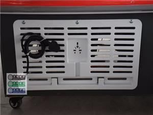 奥创冰柜商用大容量玻璃门保鲜冷藏柜卧式冰箱岛柜冷冻超市展示柜