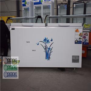 奥创冰柜商用大容量卧式冷藏冷冻柜单双温保鲜冷冻两用家用大冰箱冷柜