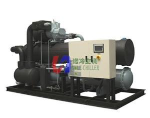 上海诺冷水冷螺杆单机复叠低温机组