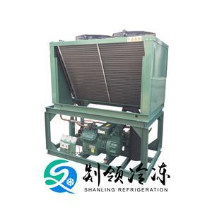 博莱特YBF4G20.2 铝排冷库机组 速冻库设备 冷冻冷藏库制冷机组