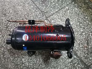 三洋C-RHN110E5A三洋岛柜专用卧式压缩机1.5HP低温压缩机