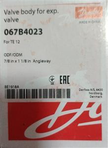 丹佛斯阀体 TE12/20-直角 067B4023 7/8×1-1/8