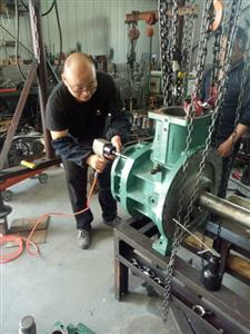 三洋双级压缩机维修