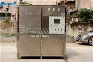 深圳思诺威尔2吨颗粒方冰机