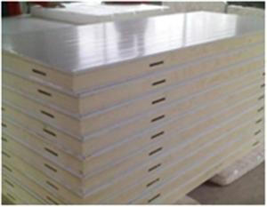 南宁保利达  聚氨酯冷库板  10CM厚聚氨酯双面彩钢冷库板
