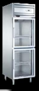江西玛兰奴风冷双玻璃门高身冷藏展示柜RG0.5L2F 700*760*1980