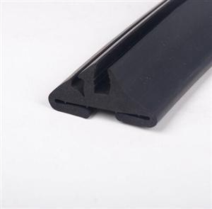 自由门视窗胶条观望窗胶条玻璃卡条密封耐腐蚀高温胶条