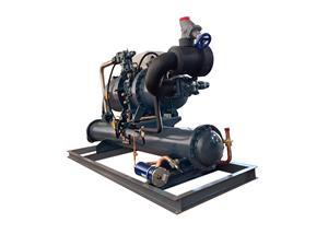 汉钟60HP单机高温水冷机组