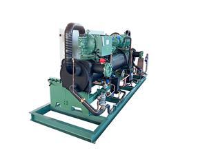 比泽尔50HP螺杆两并联冷水机Y111B