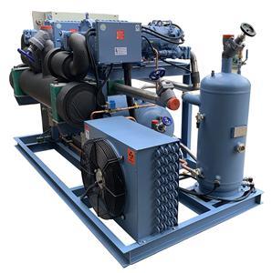 高温70HP螺杆二并联制冷机组