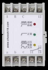上海超时电子电器 ABJ1-18D系列三相交流电压保护器 相序保护器(请备注:Y型/H型/X型!)
