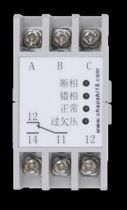 上海超时电子电器 ABJ1-12W系列三相交流电压保护器 相序保护器