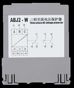 上海超时电子电器  ABJ2-24W 三相三线交流电压保护继电器 (适用于变频电源的供电环境)