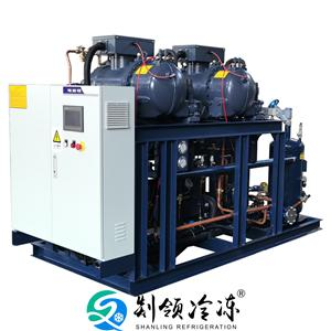 RC2-260三并联制冷压缩机组 螺杆制冷机组 汉钟制冷压缩机组 冷库