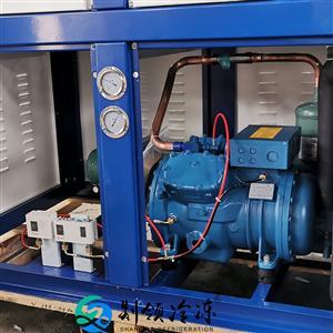 富士豪S15-56Y制冷机组 15匹冷冻机 Frascold制冷压缩机 制冷厂家