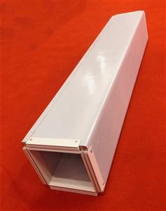 壹强中央空调酚醛风管直管单面彩钢酚醛复合风管成品风管
