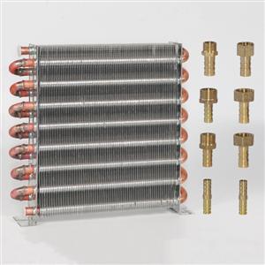 冰箱冷凝器水冷风冷铜管散热器冰柜制冰机冷柜自制通用蒸发器
