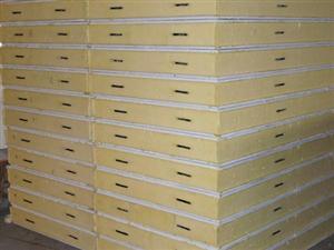 聚氨酯冷库板100mm冷冻库保温板150mm速冻库保温板 低温冷库保温