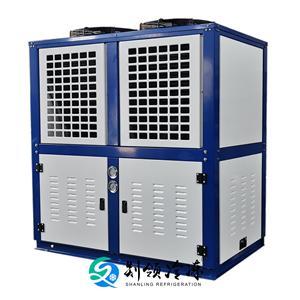 冷凝器厂家 压缩机换热器 表冷器 制冷机组散热器 铜管铝片换热器