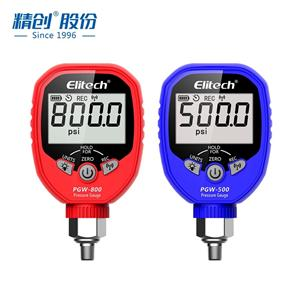 精创PGW-500 800高精度智能压力表进口传感器APP查看管道